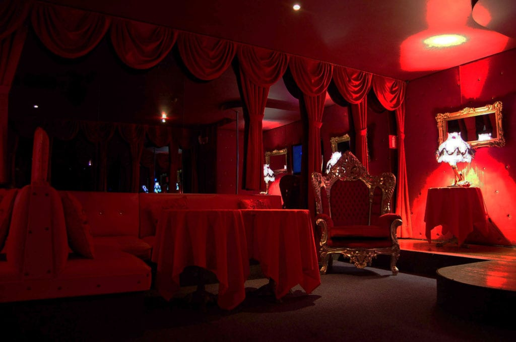 what happens in the vip room of a strip club