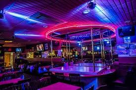 Male and female coed strip clubs
